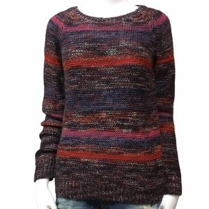 Mossimo Supply Co. Multicolored Knitted Sweater M